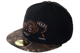 Hat Club Exclusive New Era 59Fifty Vancouver Grizzlies Fitted Hat - 2T Black, Real Tree