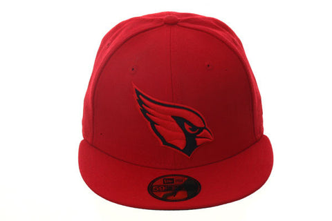 New Era 59Fifty Arizona Cardinals Fitted Hat - Red, Black