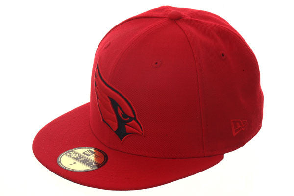 Hat Club Exclusive New Era 59Fifty Arizona Cardinals Fitted Hat - Red, Black