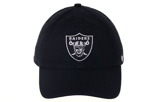 47 Brand Cleanup Oakland Raiders Dad Hat - Black – Hat Club 9fa7bb9e1