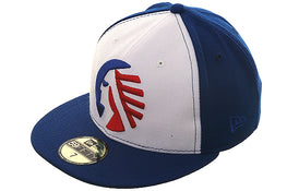 Hat Club Exclusive New Era Memphis Chicks Rail Fitted Hat - White, Royal