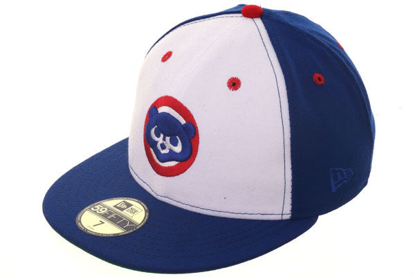 Exclusive New Era 59Fifty Chicago Cubs Hat - White, Royal