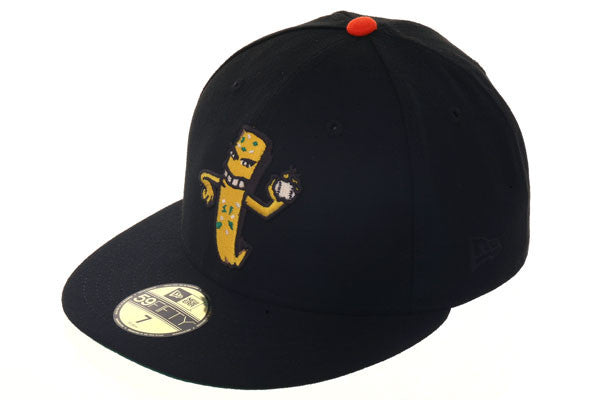 New Era 59Fifty Thrill SF Garlic Fry Man Fitted Hat - Black, Gold
