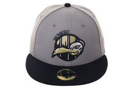 New Era 59Fifty Thrill SF Jailbirds Fitted Hat - 2T Gray, Black