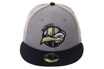 New Era 59Fifty Thrill SF Jailbirds Fitted Hat - 2T Gray 90c814e71