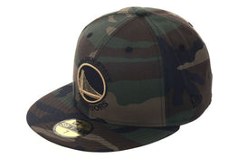 Exclusive New Era 59Fifty Golden State Warriors Alternate Hat - Camouflage