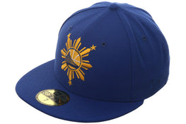 Exclusive Golden State Warriors Filipino Heritage Hat - Royal, Gold