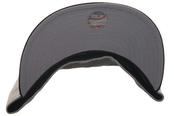 Hat Club Exclusive New Era 59Fifty Los Angeles Angels 1972 Fitted Hat - 2T Heather Gray, Black