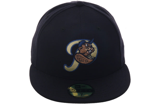 Hat Club Exclusive New Era 59Fifty Portland Beavers Fitted Hat - Navy