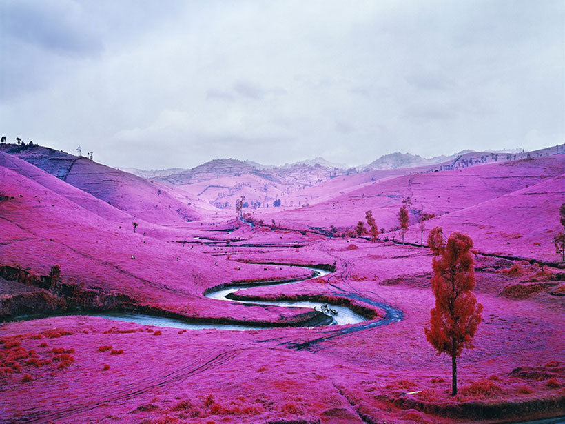 The Enclave by Richard Mosse, 2014. Image via Paper Visual Art