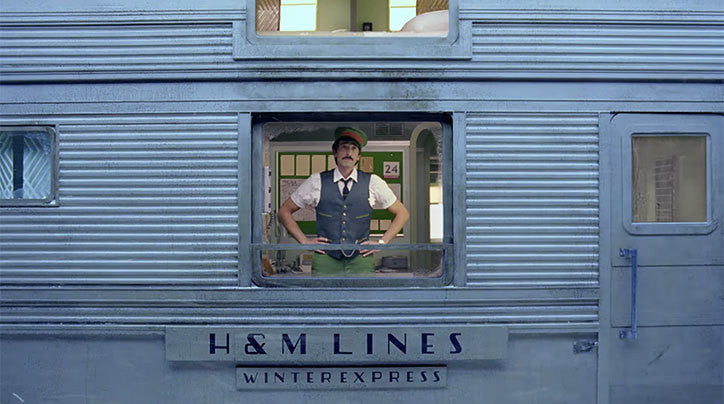 Wes Anderson directs H&M's Christmas Ad