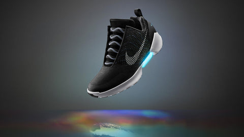 Nike self lacing shoes