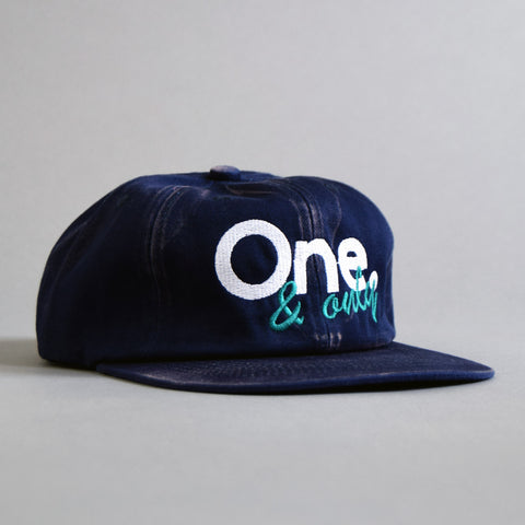 Volume One Unconstructed Navy 6 Panel One & Only Cap