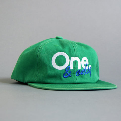 Volume One Unconstructed Mint 6 Panel One & Only Cap