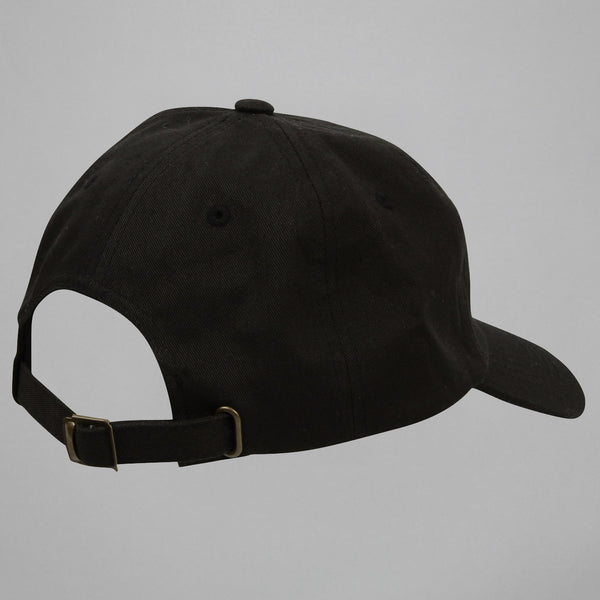 Volume One Black Logo Dad Cap