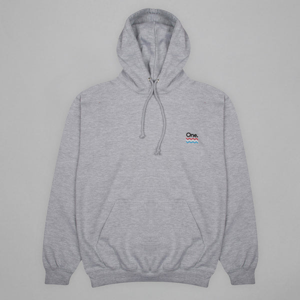 Volume One Heather Grey Hoodie