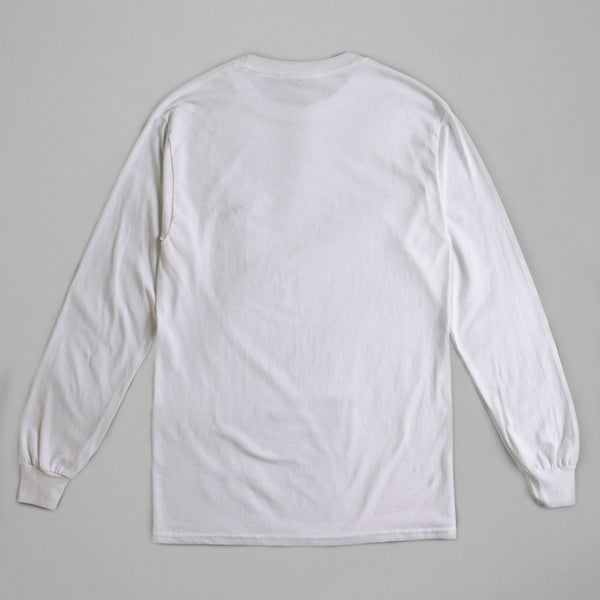 Volume One White Long Sleeve Tee