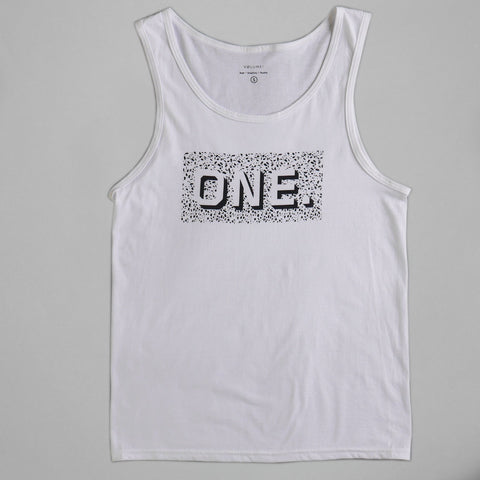 Volume One Marble White Vest