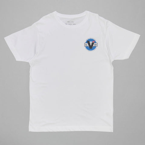 Volume One White Donut Tee