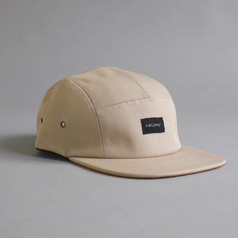 Volume One Tan Polyester Contrast 5 Panel