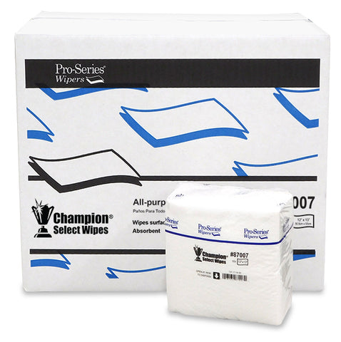 "Champion Select DRC, 87007, Light Weight, 12""x13"", 1/4 Fold, 16/50, 800 ct"