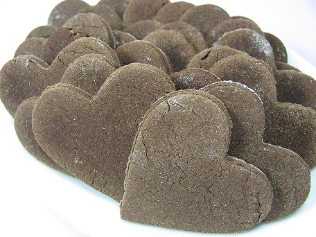 Heart shaped crunchers