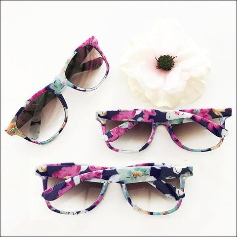 Boho Chic Floral Sunglasses Party Favors Set Of 8