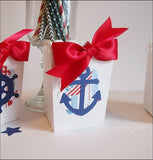 Ahoy It's A Boy Popcorn Favor Boxes - Jaclyn Peters Designs - 3
