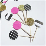 Kate Spade Theme Party Appetizer Picks - Jaclyn Peters Designs - 2
