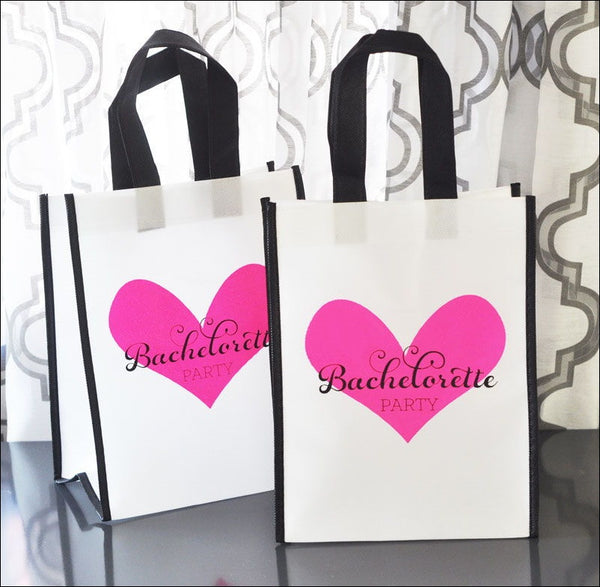 Bachelorette Party Bags Set Of 12 - Jaclyn Peters Designs
