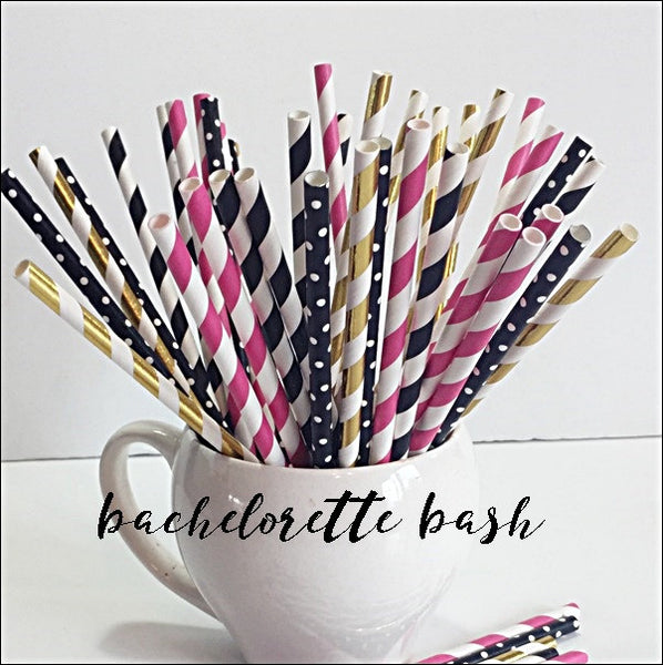 Bachelorette Party Straw Mix Set Of 50