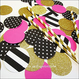 Bachelorette Party Glitter Table Decor - Jaclyn Peters Designs - 1