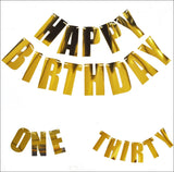 Birthday Party Letter Garland Kit - Jaclyn Peters Designs - 1