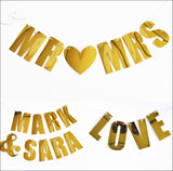 Bridal Shower Or Wedding Letter Garland Kit - Jaclyn Peters Designs - 1