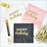 Happy Birthday Party Napkins Set of 50 - Jaclyn Peters Designs - 1