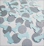 Boy's First Birthday Party Confetti - Jaclyn Peters Designs - 3