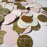 Blush Pink, Ivory & Gold Confetti - Jaclyn Peters Designs - 2