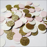 Blush Pink, Ivory & Gold Confetti - Jaclyn Peters Designs - 3