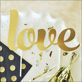 Love Gold Cake Topper - Jaclyn Peters Designs - 2