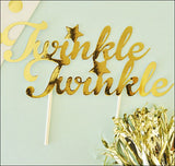 Twinkle Twinkle Little Star Cake Topper - Jaclyn Peters Designs - 2