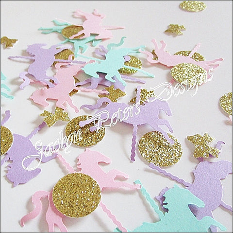 Carousel Horse Party Confetti - Jaclyn Peters Designs - 1