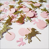 Pink & Gold Carousel Confetti