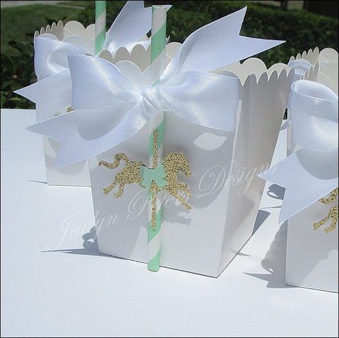 Carousel Party Favors Do It Yourself Kit - Jaclyn Peters Designs - 1