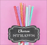 Chevron Party Straws - Jaclyn Peters Designs - 2