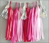 Valentine's Day Party Tassel Garland Kit
