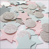 Gender Reveal Party Star Confetti - Jaclyn Peters Designs - 5