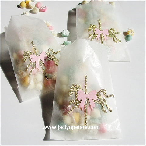 Carousel Party Glassine Candy Bags - Jaclyn Peters Designs - 1