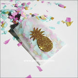 Gold Pineapple Glassine Candy Bags - Jaclyn Peters Designs - 3