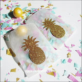 Gold Pineapple Glassine Candy Bags - Jaclyn Peters Designs - 2