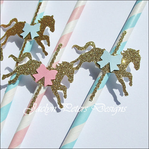 Carousel Straws Do It Yourself Kit - Jaclyn Peters Designs - 1